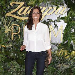 Verónica Hidalgo en una fiesta organizada en el Casino de Madrid