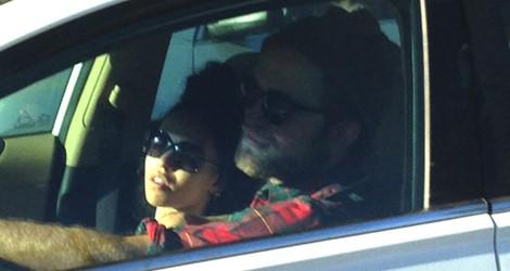 Robert Pattinson y Tahliah Debrett Barnett por Venecia