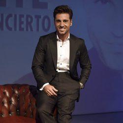David Bustamante en la presentación de su nuevo disco 'Vivir'