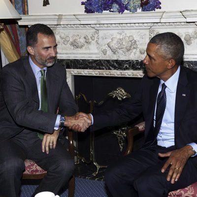 El Rey Felipe y Barack Obama en un encuentro en Nueva York