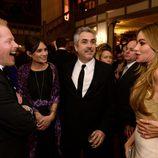 Joe Manganiello mirando el culo a Sofía Vergara en la Cena de Corresponsales de la Casa Blanca 2014