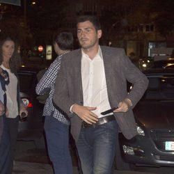 Iker Casillas en una misa funeral por Alfredo Di Stéfano
