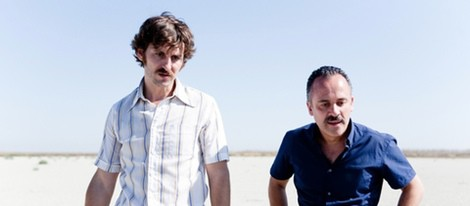 Raúl Arévalo y Javier Gutiérrez en 'La isla mínima'