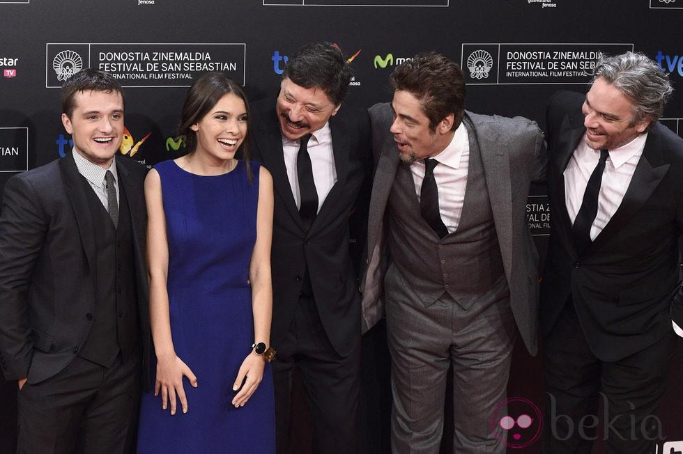 Equipo de 'Escobar: Paraíso perdido' en el Festival de San Sebastián 2014