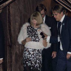 Anna Wintour en la boda de George Clooney y Amal Alamuddin