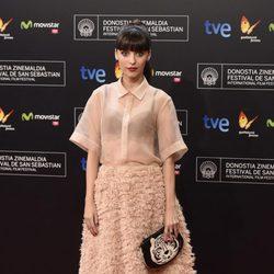 Leticia Dolera en la gala de clausura del Festival de San Sebastián 2014