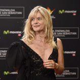 Nastassja Kinski en la gala de clausura del Festival de San Sebastián 2014