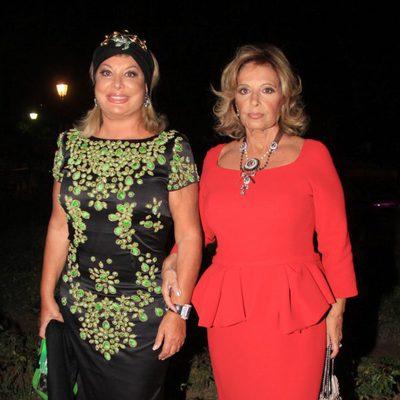 María Teresa Campos y Olivia Valere en los Premios Escaparate de Sevilla
