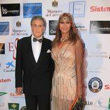 Jaime Ostos y María Ángeles Grajal en los Premios Escaparate de Sevilla