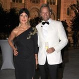 Carmen Lomana y Edmond Fokker en los Premios Escaparate de Sevilla