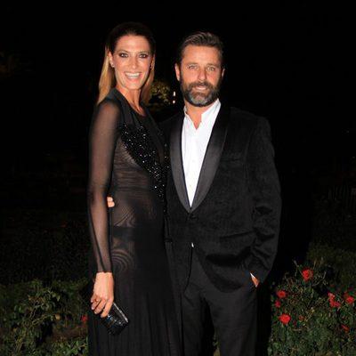Laura Sanchez y David Ascanio en los Premios Escaparate de Sevilla