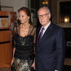 Isabel Preysler y Miguel Boyer en una cena en 2006