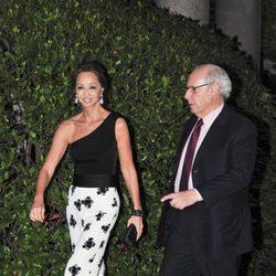 Isabel Preysler y Miguel Boyer en una fiesta en 2011