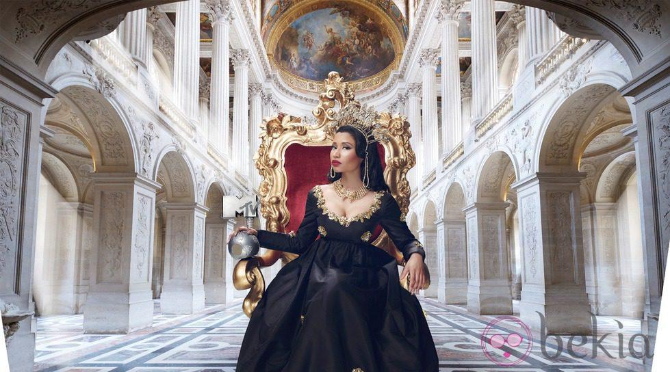 Nicki Minaj para los MTV EMA 2014