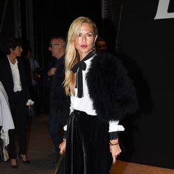 Rachel Zoe en el desfile de Saint Laurent en la Semana de la Moda de París primavera/verano 2015