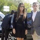 Ana Boyer en el funeral de Miguel Boyer