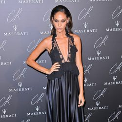 Joan Smalls en una fiesta organizada en el marco de la Paris Fashion Week