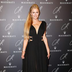 Paris Hilton en una fiesta organizada en el marco de la Paris Fashion Week