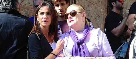 Melani Olivares y Maribel Ayuso en la manifestación contra la Ley Lasalle