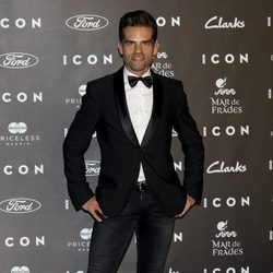 Antonio Najarro en los Premios Icon 2014