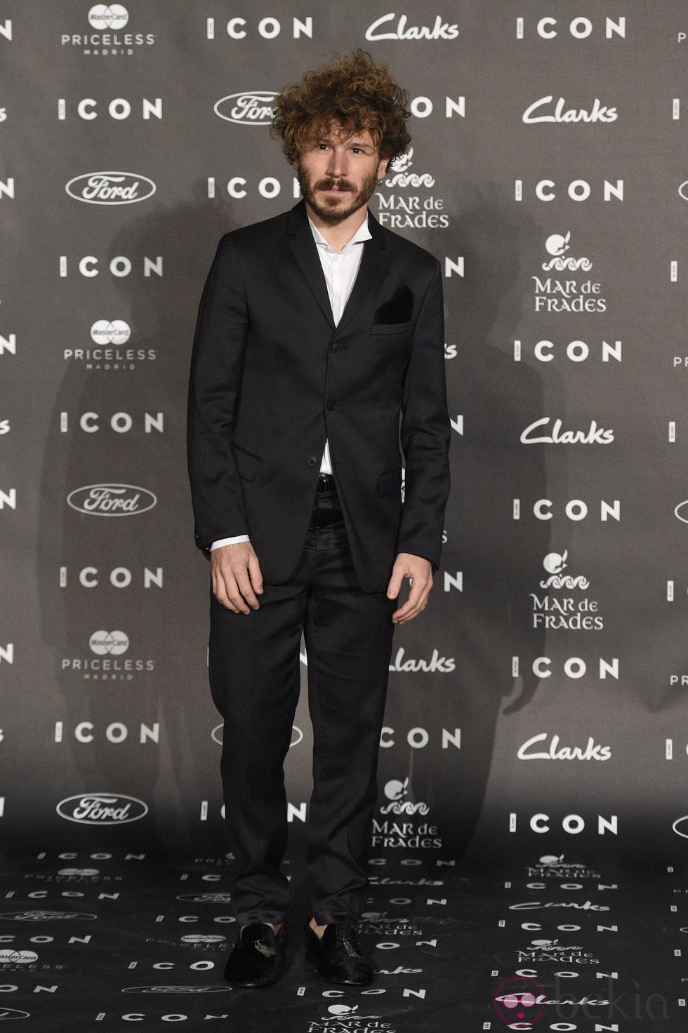 Rubén Ochandiano en los Premios Icon 2014