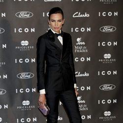 Nieves Álvarez en los Premios Icon 2014