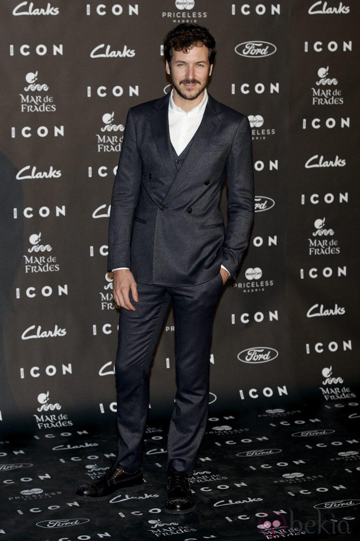 Jorge Suquet en los Premios Icon 2014
