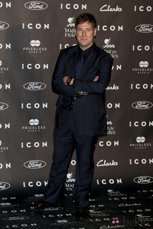 Carlos Latre en los Premios Icon 2014