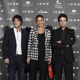 Jordi Cruz, Samantha Vallejo Nájera y Pepe Rodríguez en los Premios Icon 2014