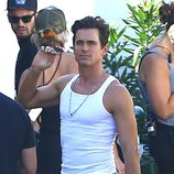 Matt Bomer en el rodaje de 'Magic Mike XXL'