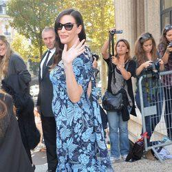 Liv Tyler en el desfile de Miu Miu en la Semana de la Moda de París primavera/verano 2015