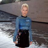 Michelle Williams en el desfile de Louis Vuitton en la Semana de la Moda de París primavera/verano 2015