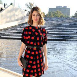Sofia Coppola en el desfile de Louis Vuitton en la Semana de la Moda de París primavera/verano 2015