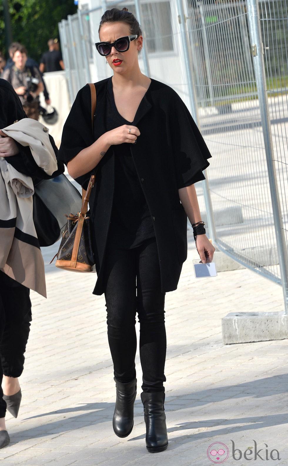 Pauline Ducruet en el desfile de Louis Vuitton en la Semana de la Moda de París primavera/verano 2015