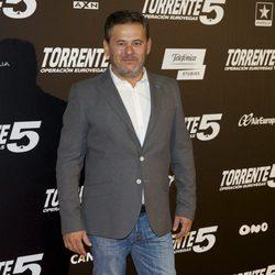 Miki Nadal en el estreno de 'Torrente 5: Operación Eurovegas'
