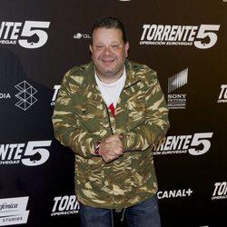Alberto Chicote en el estreno de 'Torrente 5: Operación Eurovegas'