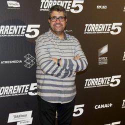 Florentino Fernández en el estreno de 'Torrente 5: Operación Eurovegas'