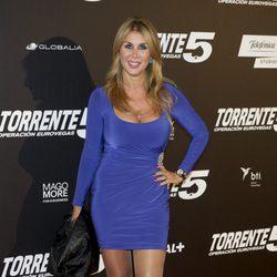 Malena Gracia en el estreno de 'Torrente 5: Operación Eurovegas'