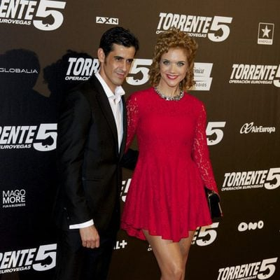 Beatriz Trapote y Víctor Janeiro en el estreno de 'Torrente 5: Operación Eurovegas'