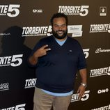 Carlos Jean en el estreno de 'Torrente 5: Operación Eurovegas'