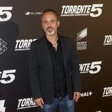 Javier Gutiérrez en el estreno de 'Torrente 5: Operación Eurovegas'