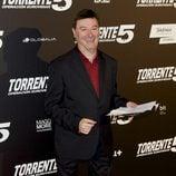 Leonardo Dantés en el estreno de 'Torrente 5: Operación Eurovegas'