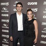 Jesulín de Ubrique y María José Campanario en el estreno de 'Torrente 5: Operación Eurovegas'