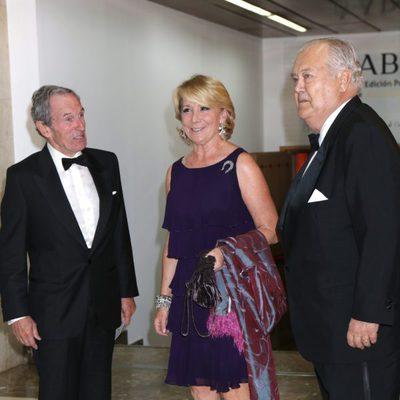 Esperanza Aguirre en los Premios Mariano de Cavia 2014