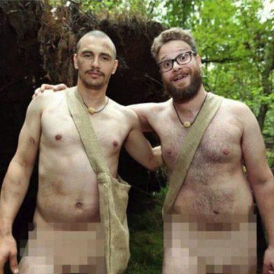 James Franco y Seth Rogen, desnudos en la naturaleza