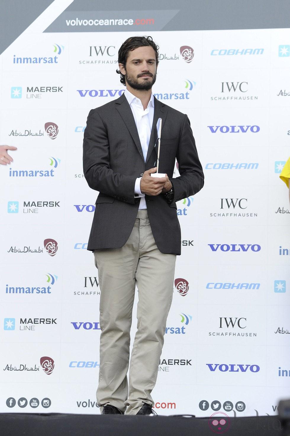 Carlos Felipe de Suecia recibe un premio en Alicante