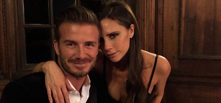 David y Victoria Beckham cenando en un restaurante de Escocia