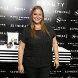 Caritina Goyanes en la presentación de la línea Marc Jacobs Beauty