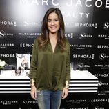 Isabel Jiménez en la presentación de la línea Marc Jacobs Beauty