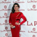 Marina Danko en la entrega de los Premios La Pesquera 2014